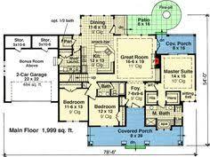 Craftsman Style Homes Floor Plans Craftsman Style House Plan Main Level Floor Plan 3 Bedroom 2