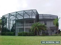 Painting Aluminum Screen Enclosures by Orlando Area Screen Enclosures Serving Orange County Central Florida