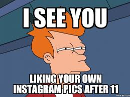 Like Your Own Post Meme - 11 biggest social media crimes you don t want to do seethru