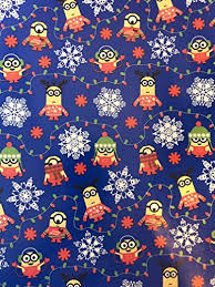 minion wrapping paper despicable me christmas wrapping paper christmas wrapping paper