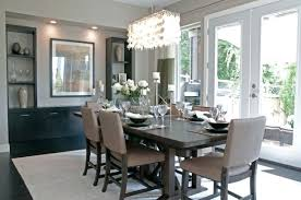 dining room idea modern dining room decor modern dining room with brown espresso