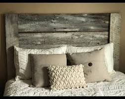 Barn Wood Headboard Barnwood Etsy