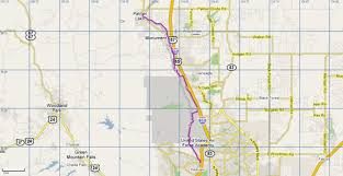 Map Of Colorado Springs by Santafe Trail