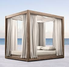Outdoor Daybed With Canopy Teak Canopy Daybed