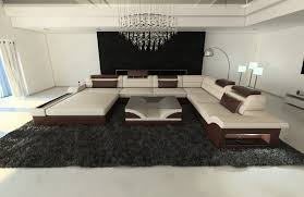 Modern Fabric Sofa Designs by Big Fabric Sectional Sofa Orlando Xxl Led