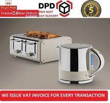 Dualit Toaster And Kettle Set Dualit Architect Stainless Steel 4 Slice Toaster U0026 1 5 Kettle Set
