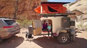 offroad teardrop camper moby1 expedition trailers xtr family adventure video youtube