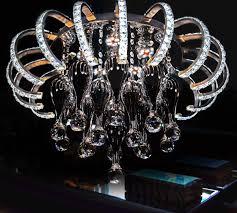 Wohnzimmer Lampe Ebay Led Deckenleuchte Hängelampe Lampe Glaskristall Lüster Wohnzimmer