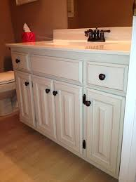 how to paint oak cabinets white bathroom cabinet redo painted oak cabinet painting bathroom