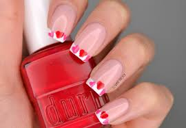 nails valentine u0027s day botched heart french manicure cosmetic