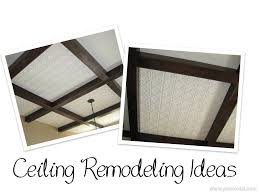 ceiling remodeling ideas