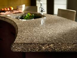 Kitchen Quartz Countertops by Brown Kitchen Quartz Countertops Bay Area California At Marble