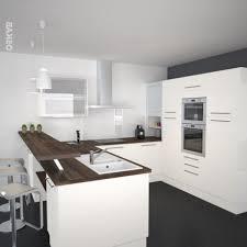 Cuisine En U Avec Ilot by Moderne Wohndekoration Und Innenarchitektur Awesome
