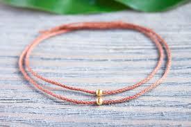 gold string bracelet images Couples bracelets long distance relationship matching bracelets jpg