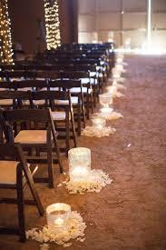 Fall Wedding Aisle Decorations - 30 romantic indoor barn wedding decor ideas with lights deer