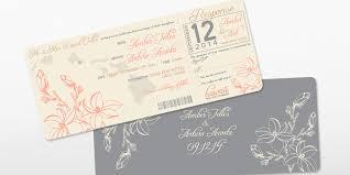 Destination Wedding Invites Boarding Pass Destination Wedding Invite Set Acosta Wm Designs