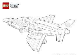 60079 training jet transporter colouring page lego city