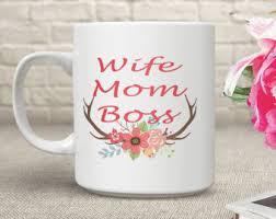 Office Coffee Mugs Boss Lady Coffee Mug Etsy