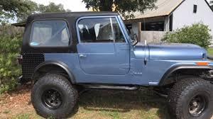 teal jeep for sale 1979 jeep cj 7 for sale near pensacola beach florida 32561