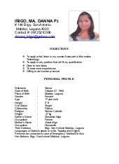 Example Of Resume Personal Information by Resume Writing For Students And Freshers