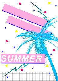 80s design vaporwave palm like pinterest