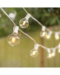 savings on led globe string lights g50 bulb 50 ft white
