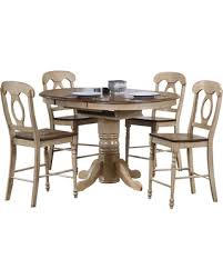 oval pub table set don t miss this deal sunset trading 5 piece brook round or oval