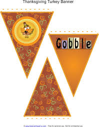 thanksgiving printables banners coloring