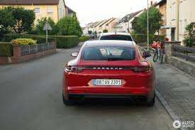 porsche panamera turbo s hybrid spotted in germany unforgettable