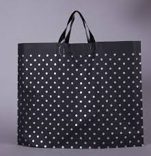 03 14 35 25cm 6cm large handle plastic gift bag plastic shopping