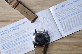 lade di vetro montre withings activit礬 test avis