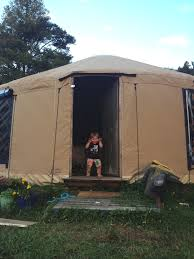 Living In A Yurt by Yurt Living Come And See Our Yurt Our Land Our Loo