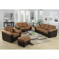 Microfiber Sofa And Loveseat Sofa Loveseat And Chair Set Center Divinity
