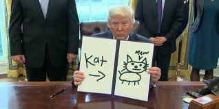 Editar Memes Online - president trump shows off his childlike artwork in trump draws gifs