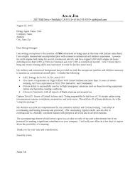 airline pilot cover letter an investment in a high quality pilot