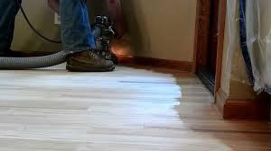 hardwood floor refinishing the sanding filling process