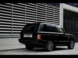 land rover black 2010 land rover range rover autobiography black rear and side