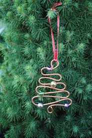 christmas ornament made these years ago s hooks with beads for