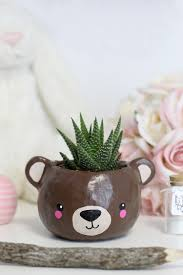 Succulent Planters For Sale by Diy Clay Animal Head Succulent Planter U2014 Xfallenmoon