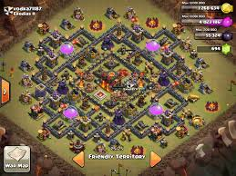 Coc Maps Ultimate Base Design For Town Hall 10 Farming U0026 Clan Wars