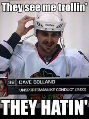 Chicago Blackhawks Memes - dave bolland lawson crouse traded to coyotes hockey players are