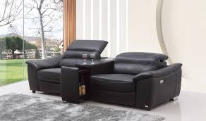 sofas amazing small leather recliners modern leather recliner