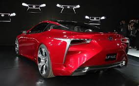red lexus lf lc concept general discussion v3 simple questions chatting with car lovers