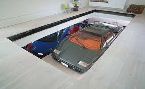 House Features Toyko House Features Car Elevator In The Living Room Autoguide
