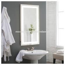 Backlit Mirror Bathroom by Remarkable Led Backlit Mirror Bathroom Image Inspirations Yoyh Org
