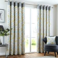 Yellow And Grey Window Curtains Grey And Yellow Curtains Teawing Co
