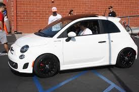 Fiat 500 Abarth White Targa Trophy 2013 White Fiat 500 Abarth Car Drivingscene