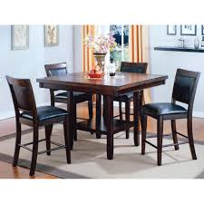 mirada dining counter height table u0026 4 chairs 2727 furniture