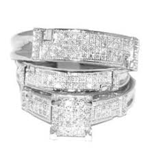 trio wedding sets trio wedding ring set