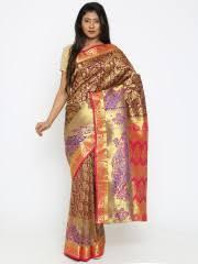 dhakai jamdani saree online jamdani saree buy artistic jamdani sarees online myntra